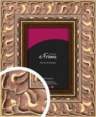 Striking Copper & Gold Picture Frame, 10x15cm (4x6