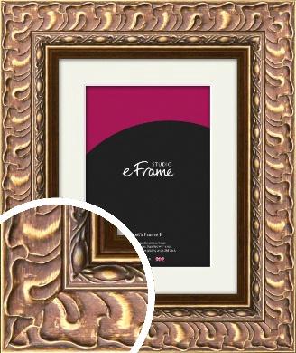 Striking Copper & Gold Picture Frame & Mount (VRMP-501-M)