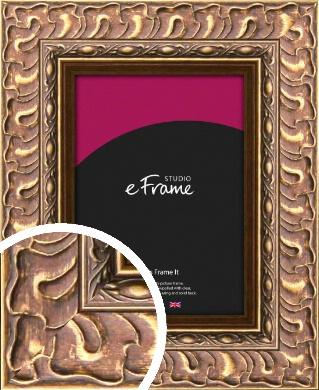 Striking Copper & Gold Picture Frame (VRMP-501)