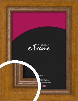Tanned Traditional Brown Picture Frame (VRMP-1333)