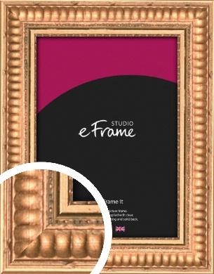 Ribbed Gold Picture Frame (VRMP-502)