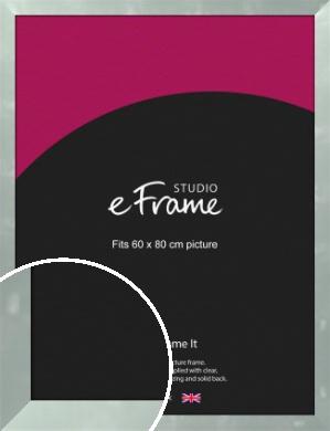 Droplet Pattern Silver Picture Frame, 60x80cm (VRMP-A068-60x80cm)