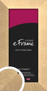 Luxury Lattice Bronze / Copper Picture Frame, 4x10