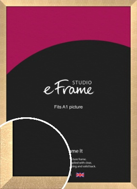Luxury Lattice Bronze / Copper Picture Frame, A1 (594x841mm) (VRMP-A071-A1)