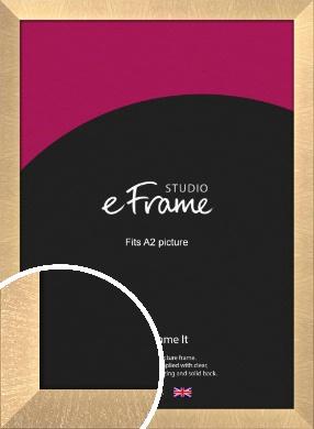 Luxury Lattice Bronze / Copper Picture Frame, A2 (420x594mm) (VRMP-A071-A2)