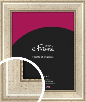 Beaded Silver Picture Frame, 20x25cm (8x10