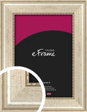 Beaded Silver Picture Frame (VRMP-443)