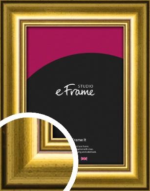 Foil Gold Picture Frame (VRMP-1340)