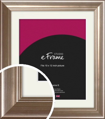 Timeless Silver Picture Frame & Mount, 10x12