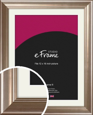 Timeless Silver Picture Frame & Mount, 12x16
