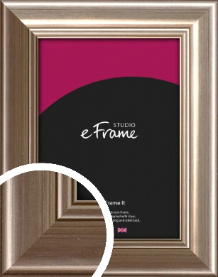 Timeless Silver Picture Frame (VRMP-444)