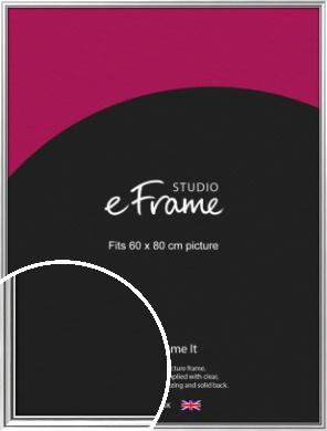 Polished Silver Picture Frame, 60x80cm (VRMP-A073-60x80cm)