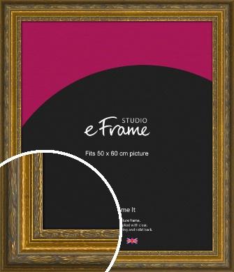 Art Nouveau Gold Picture Frame, 50x60cm (VRMP-1346-50x60cm)