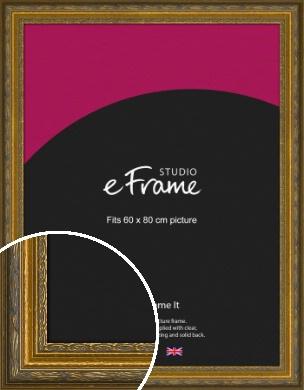 Art Nouveau Gold Picture Frame, 60x80cm (VRMP-1346-60x80cm)
