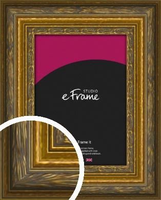 Art Nouveau Gold Picture Frame (VRMP-1346)