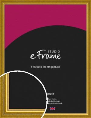 Art Deco Inspired Gold Picture Frame, 60x80cm (VRMP-1347-60x80cm)
