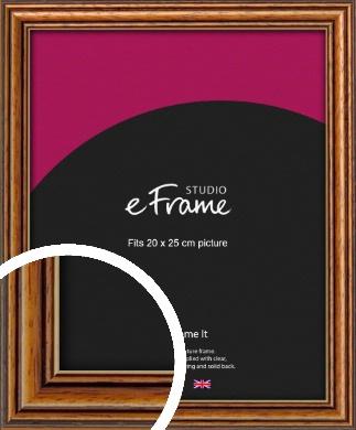 Vintage Brown Picture Frame, 20x25cm (8x10