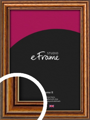 Vintage Brown Picture Frame (VRMP-194)
