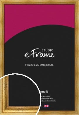 Vintage Gold Picture Frame, 20x30