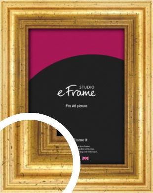 Vintage Gold Picture Frame, A6 (105x148mm) (VRMP-213-A6)