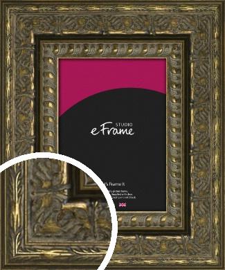 Rococo Bronze / Copper Picture Frame (VRMP-1362)
