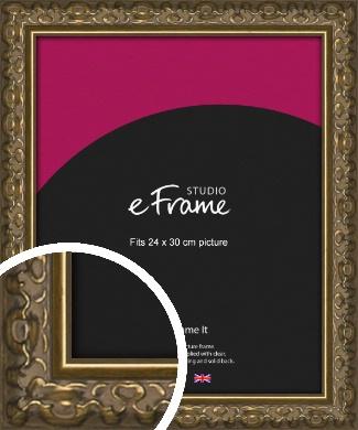 Clamshell Pattern Bronze / Copper Picture Frame, 24x30cm (VRMP-1365-24x30cm)