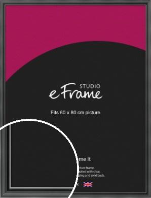Designer Black Picture Frame, 60x80cm (VRMP-A085-60x80cm)
