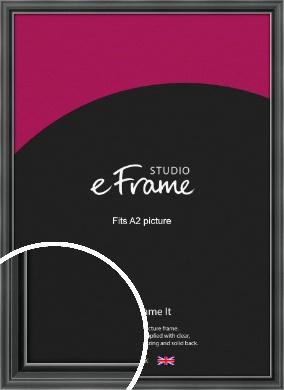 Designer Black Picture Frame, A2 (420x594mm) (VRMP-A085-A2)