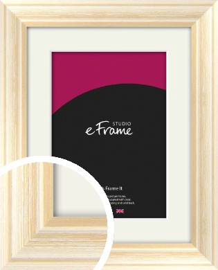 Peaches & Cream Picture Frame & Mount (VRMP-270-M)