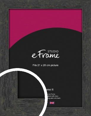 Worn Industrial Brown Picture Frame, 21x28cm (VRMP-1373-21x28cm)