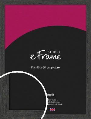 Worn Industrial Brown Picture Frame, 45x60cm (VRMP-1373-45x60cm)