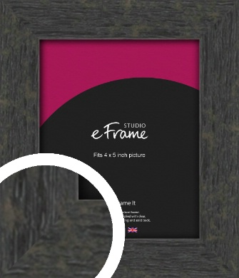 Worn Industrial Brown Picture Frame, 4x5