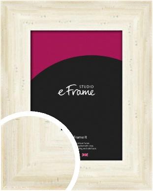 Off White Shabby Chic Cream Picture Frame (VRMP-619)