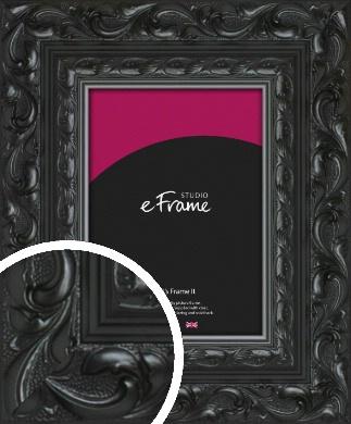 Embellished Black Picture Frame (VRMP-1377)