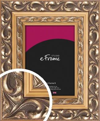 Multi Tone Rococo Gold Picture Frame (VRMP-720)