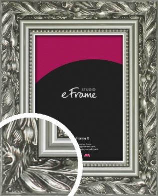 Stunning Decorative Silver Picture Frame (VRMP-1381)
