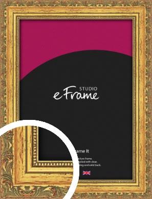 Antique Decorative Gold Picture Frame (VRMP-510)