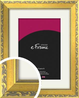 Embellished Gold Picture Frame & Mount (VRMP-717-M)