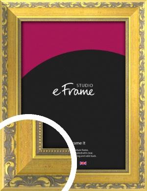 Embellished Gold Picture Frame (VRMP-717)