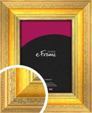 Bold & Detailed Gold Picture Frame (VRMP-460)