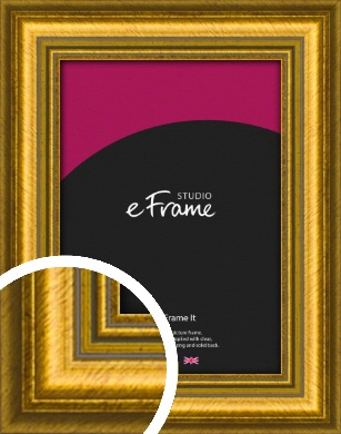 Painterly Gold Picture Frame (VRMP-1385)