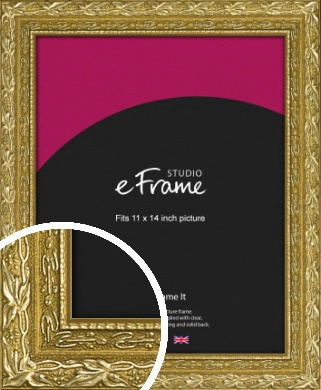 Arabesque Gold Picture Frame, 11x14