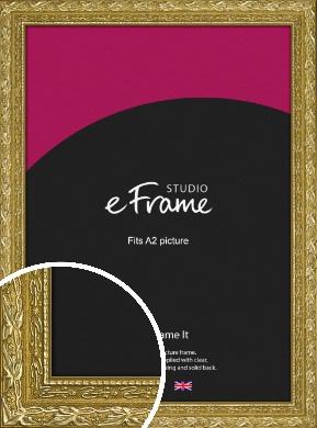 Arabesque Gold Picture Frame, A2 (420x594mm) (VRMP-1387-A2)
