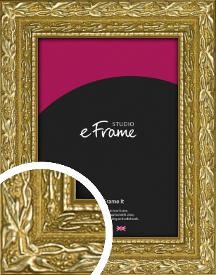 Arabesque Gold Picture Frame (VRMP-1387)