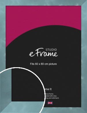 Two Tone Watermark Silver Picture Frame, 60x80cm (VRMP-A078-60x80cm)