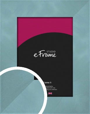 Two Tone Watermark Silver Picture Frame (VRMP-A078)