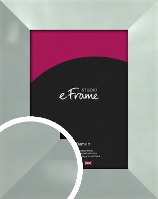 Brushed Light Silver Picture Frame (VRMP-A079)