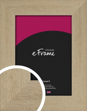 Reclaimed Effect Natural Wood Picture Frame (VRMP-1390)