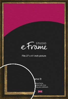 Battered Bronze / Copper Picture Frame, 27x41