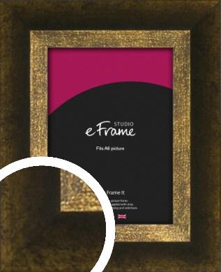 Battered Bronze / Copper Picture Frame, A6 (105x148mm) (VRMP-1393-A6)